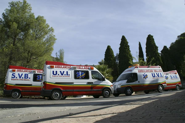 UVIs y SVBs - Ambulancias Vallada