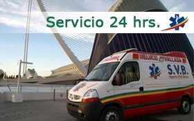 Servicio 24 hrs. - Ambulancias Vallada