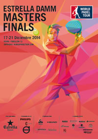Cartel del Torneo Masters Finals del World Padel Tour en Madrid