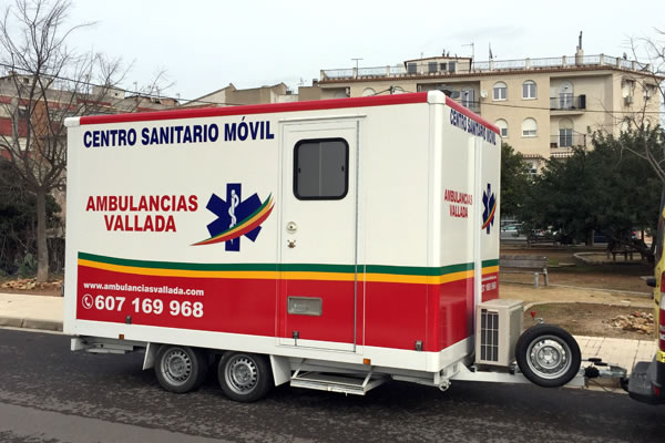 Centro Sanitario Móvil | Ambulancias Vallada